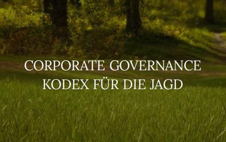 Ein Ethik-Kodex für die Jägerschaft