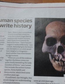 10.500 Jahre alte Menschenrasse gefunden – was sagt der Humanismus dazu?
