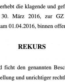 Mayr-Melnhof beruft erstinstanzlich verlorene Klage gegen Gatterjagdaward
