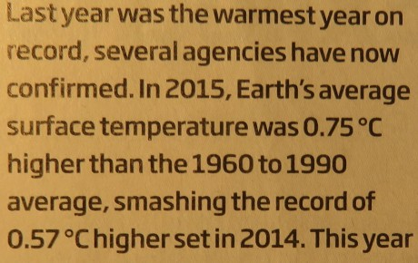 Neues vom Klimawandel