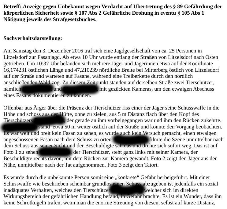 anzeigefasanjagdlitzelsdorfschuss
