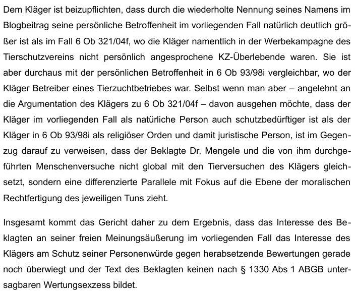UrteilKlageHessMenschenversucheEVErsteInstanz7