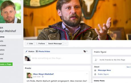 Mayr-Melnhof, seine Forderung von € 63.000 wegen Beleidigung und eine private Einladung an die potentielle Kronzeugin