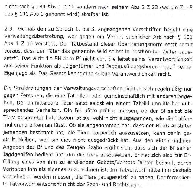 VerurteilungAMPAufhebungLandesverwaltungsgericht4