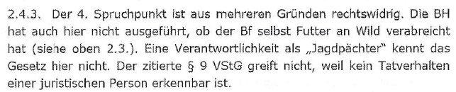 VerurteilungAMPAufhebungLandesverwaltungsgericht5