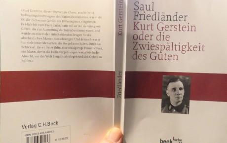 """Ziviler Ungehorsam im Dritten Reich? – """"Kurt Gerstein oder die Zwiespältigkeit des Guten"""""""