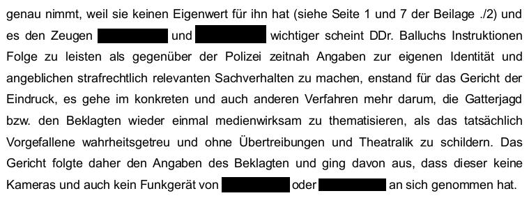 Unfassbares Urteil: Richterin am BG Salzburg belustigt sich über ...